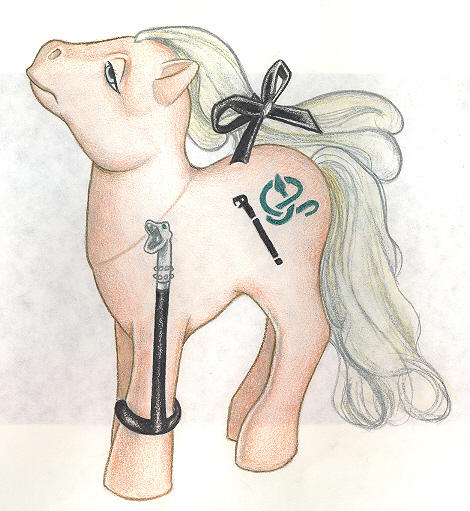 Malfoy Little Pony by tavington