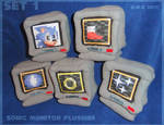 Sonic Monitor Plushies