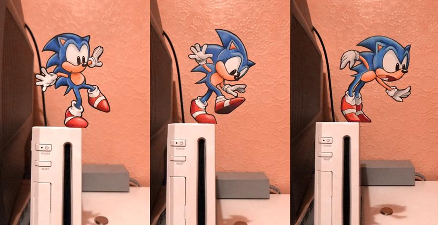 Silly Hedgehog by tavington