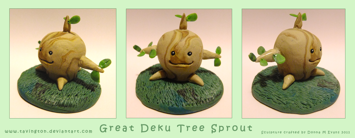 Great Deku Tree Sprout by tavington