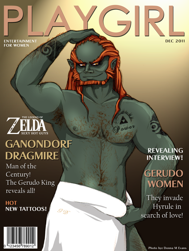 PLAYGIRL- Ganondorf Dragmire by *tavington