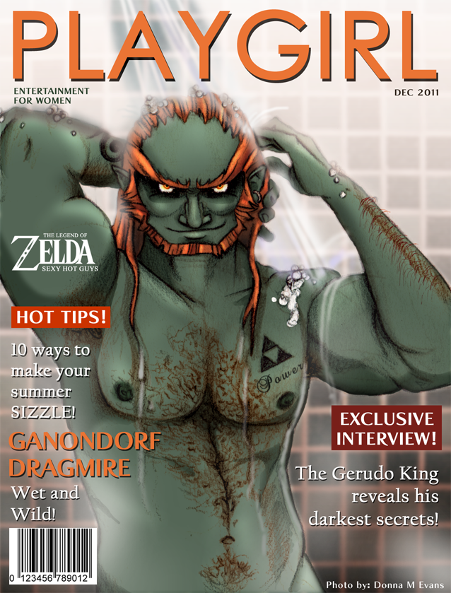 PLAYGIRL- Ganondorf Wet 'n' Wild by tavington