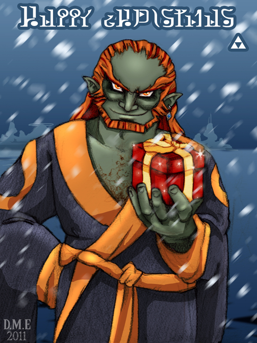 Happy Christmas from Ganondorf by tavington