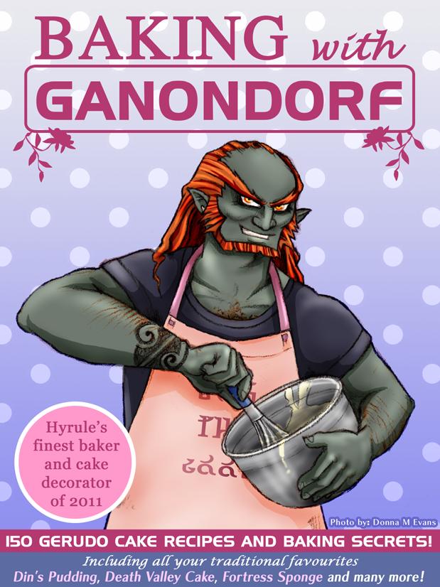 Baking with Ganondorf by tavington
