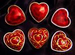 Zelda Heart Container Brooches