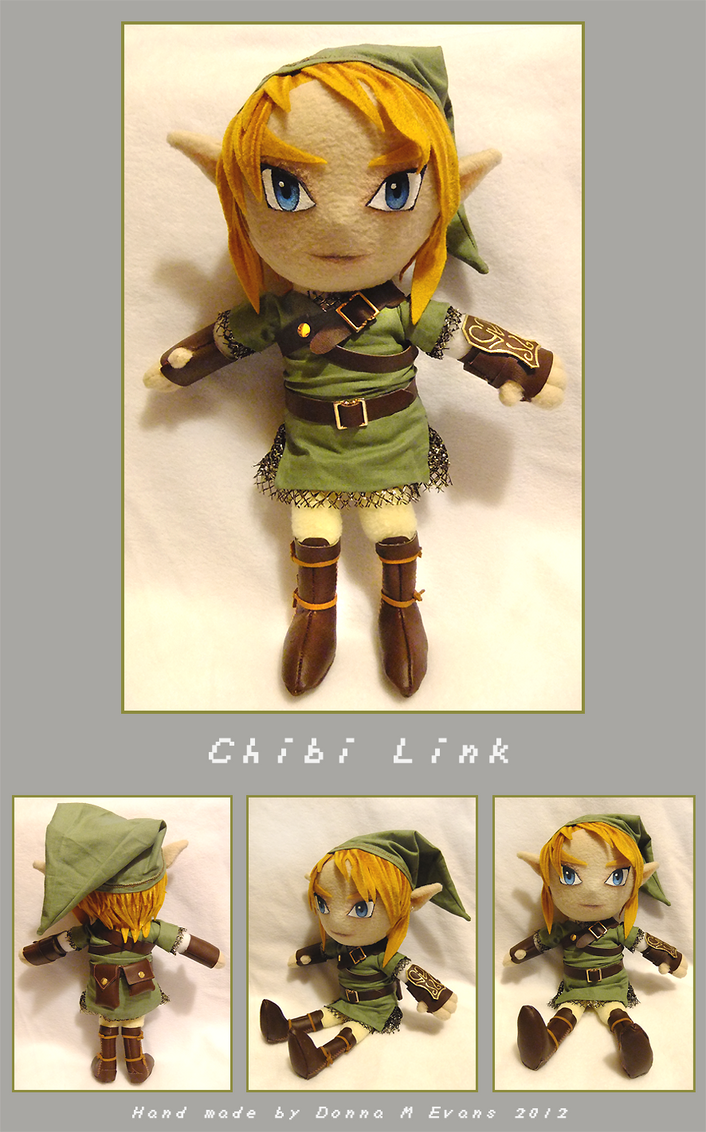 Chibi Link Plush by tavington
