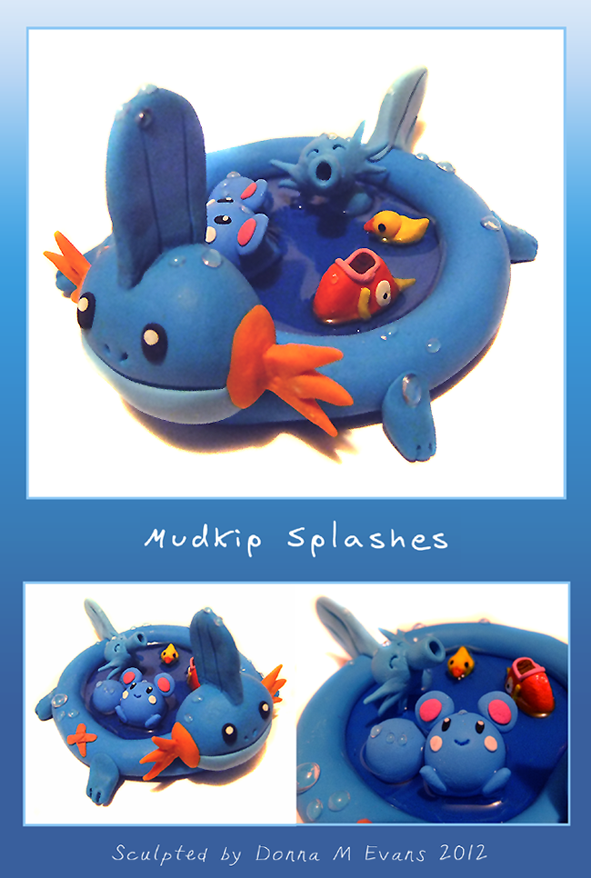 -Mudkip Splashes- by tavington
