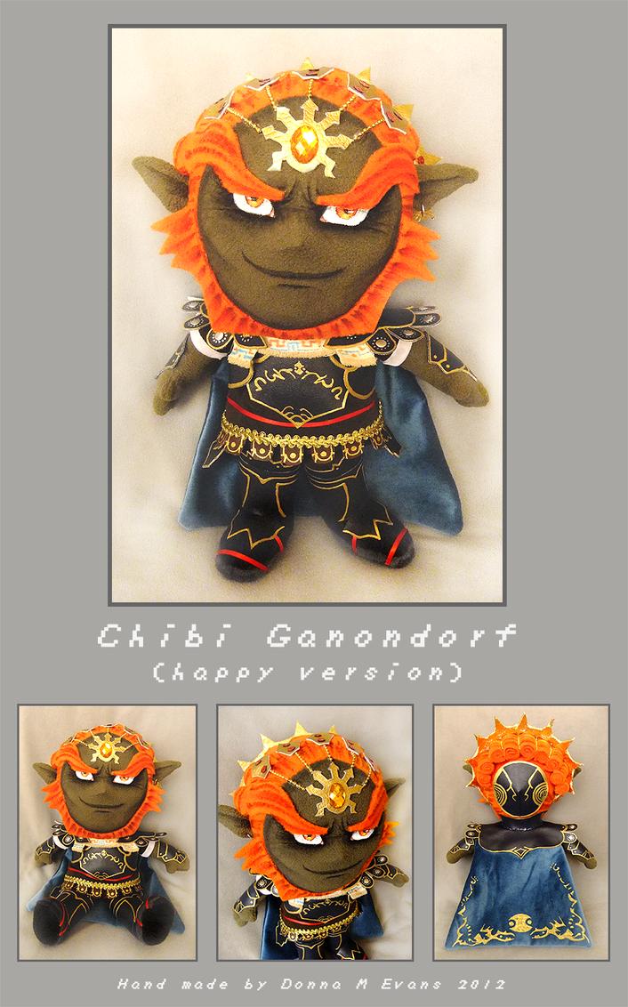 Chibi Ganondorf -happy version- by tavington