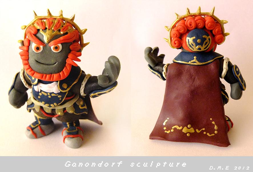 Ganondorf Mini Sculpture by tavington