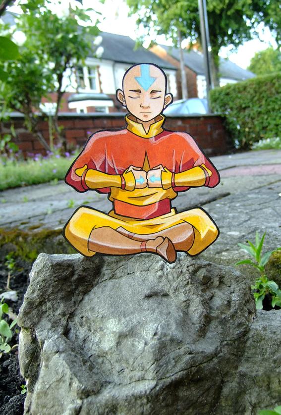 Aang paperchild by tavington