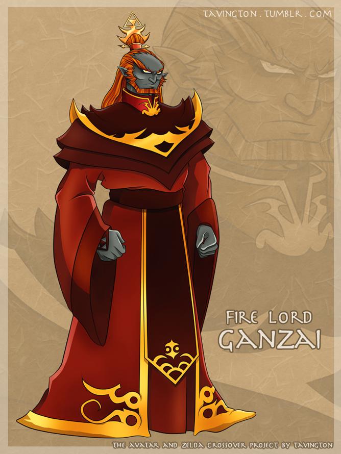 Fire Lord Ganzai by tavington