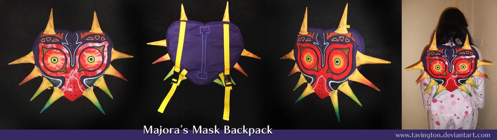 Majora's Mask backpack by tavington
