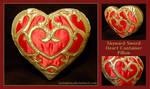 Skyward Sword Heart Container pillow