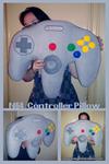 N64 Controller Pillow