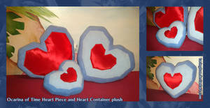 OOT Heart piece - Heart Container plush