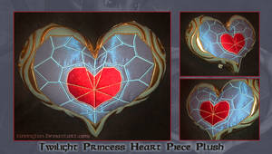Twilight Princess Heart Piece Plush