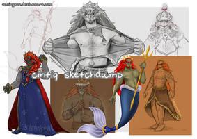 Ganondorf Cintiq Sketchdump