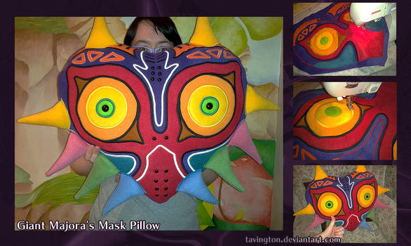 Giant Majora's Mask Pillow