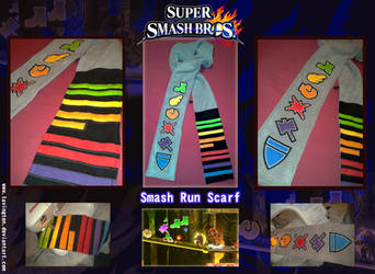 Super Smash Bros. Smash Run scarf