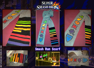 Super Smash Bros. Smash Run scarf
