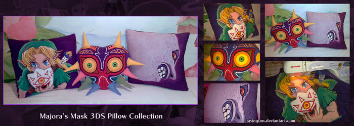 Majora's Mask 3DS Pillow Collection