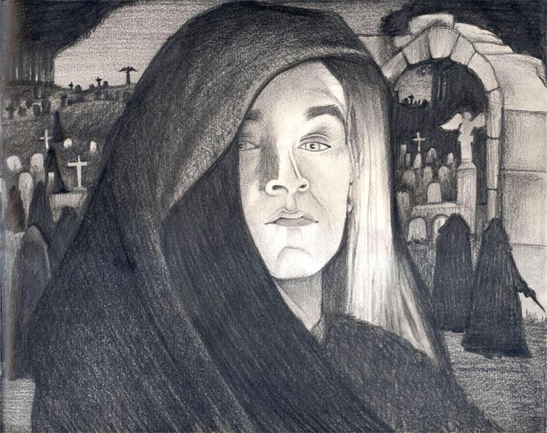 Lucius Death Eater by tavington