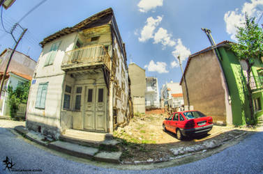 Random neighborhood in Komotini