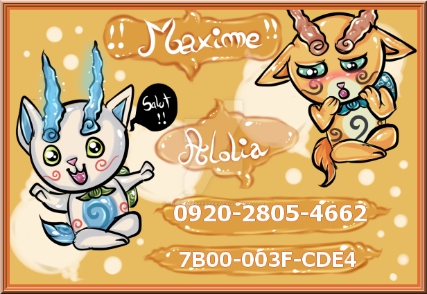 [AC SWITCH] Code Ami Switch Acnl_maxime_id_card_by_iinightmareeater-db49xjw