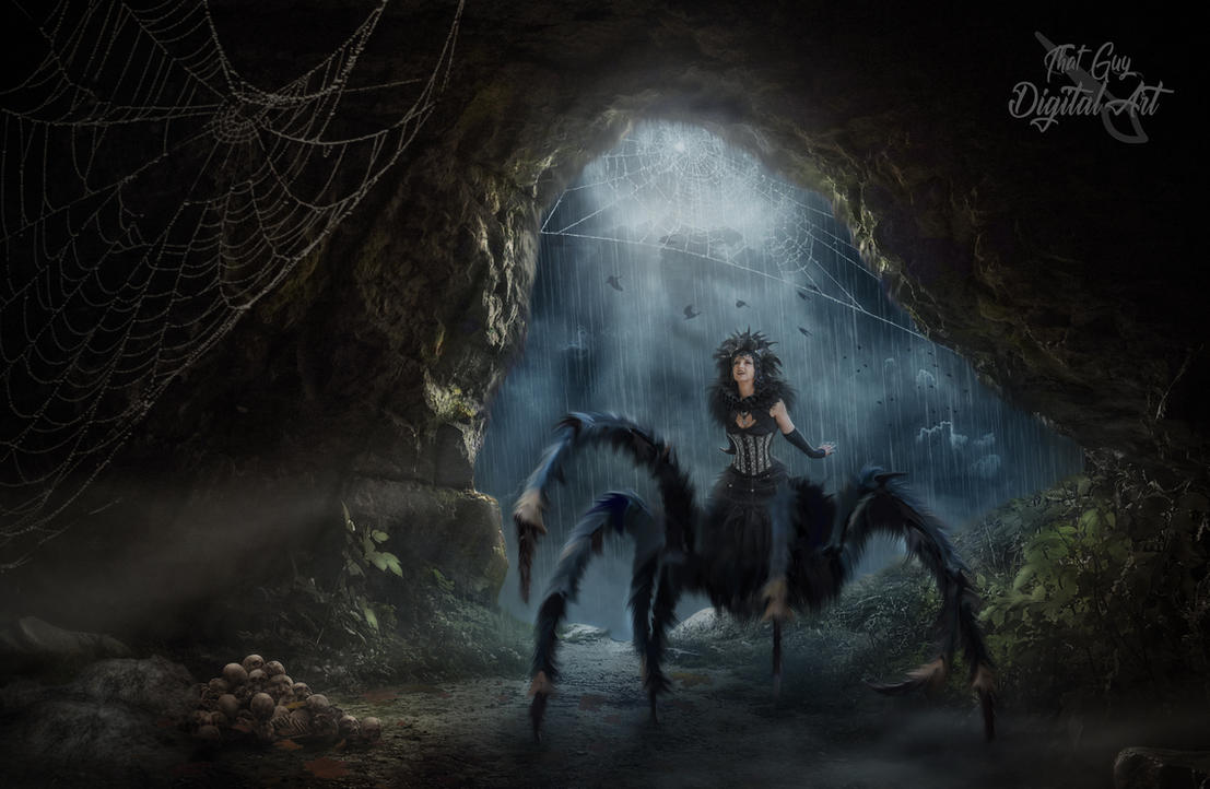 The Spider Queen by ThatGuyDigitalArt