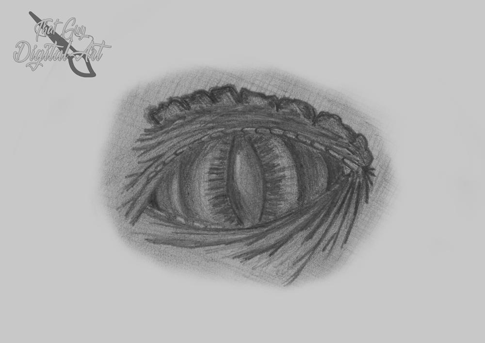 Dragon Eye by ThatGuyDigitalArt