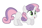 Excited Sweetie Belle Vector