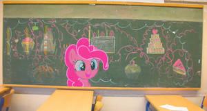 Chalkboard party