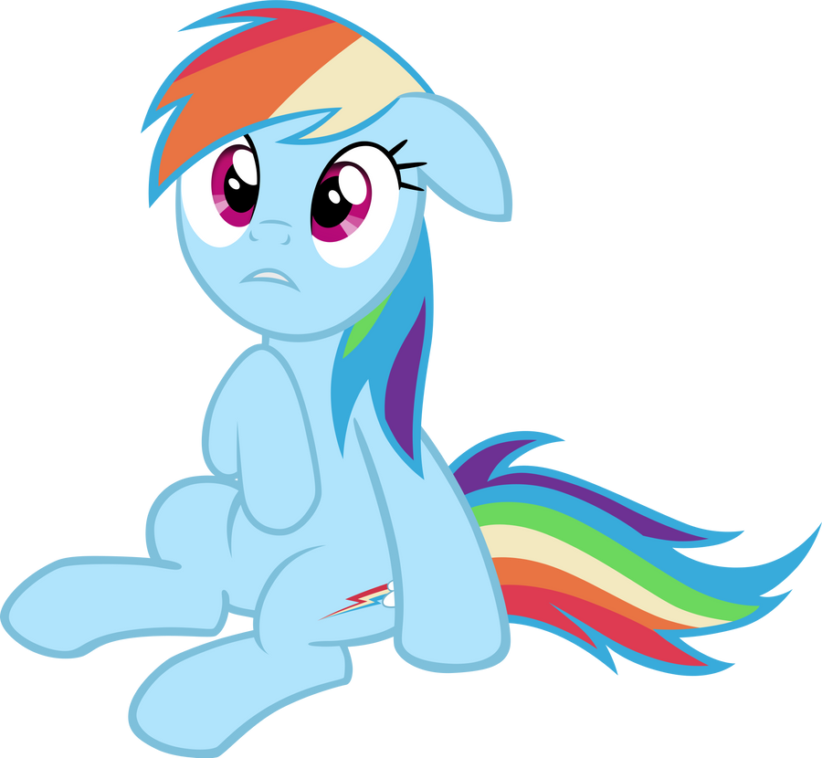 It's... Beautiful. Rainbow Dash by M99moron