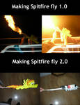 Making Spitfire fly