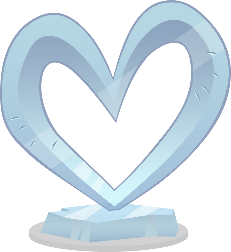 Heart ice sculpture by M99moron