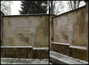 Snow Pony Drawing