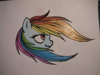 Rainbow Dash Mane Flow