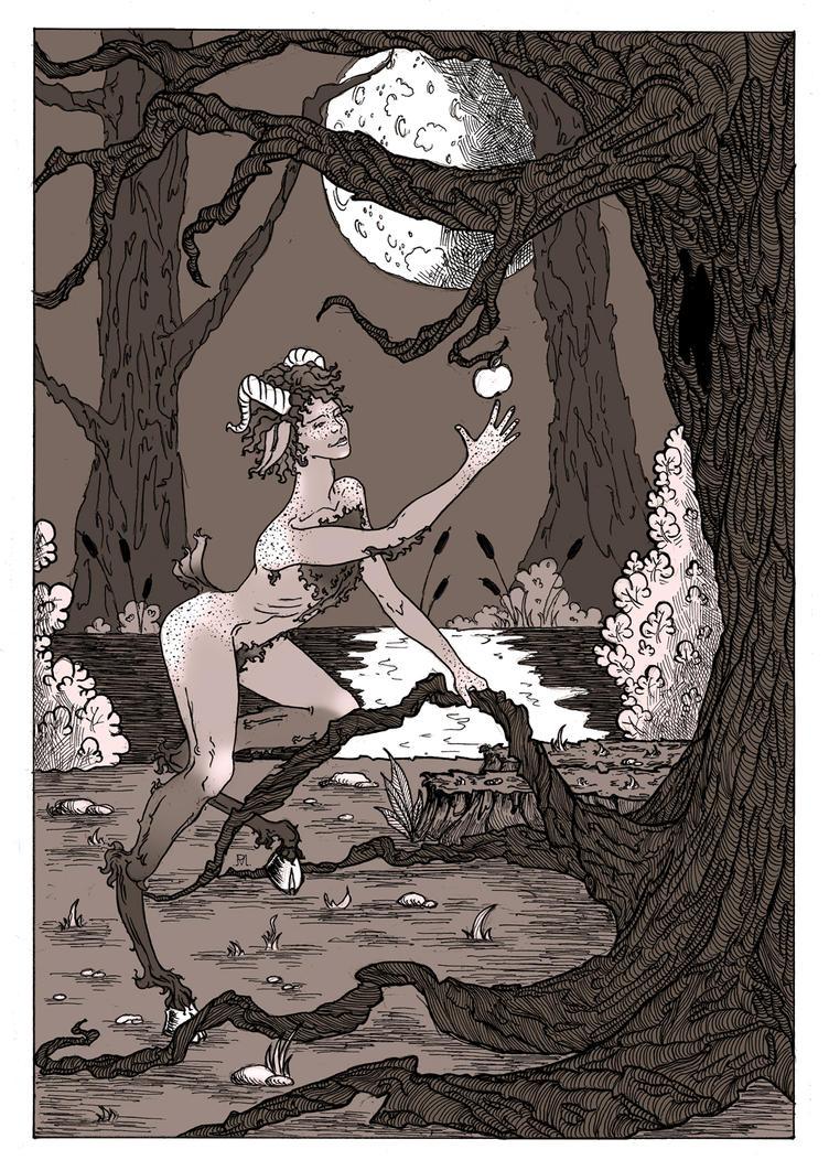 In the magic woods. by Penti-Menti