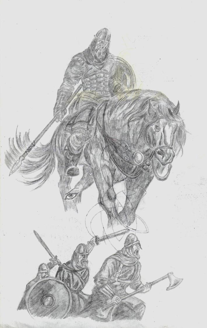 Sketches 01 by SvenEinherji