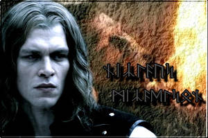 Niklaus Mikaelson (runic) by Into-Dark