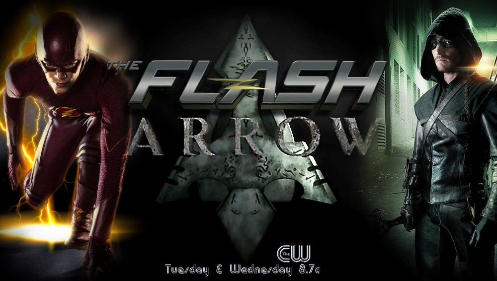 The Flash - Arrow Poster by Into-Dark