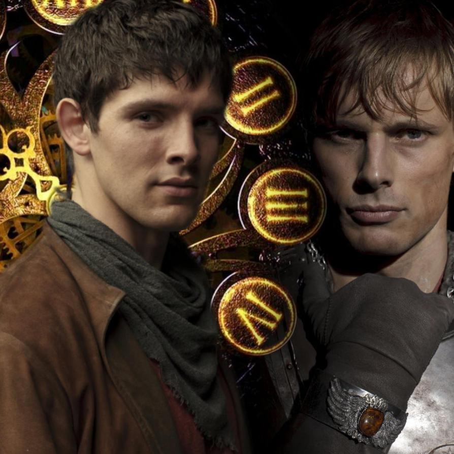 Merlin - Arthur's return by Into-Dark