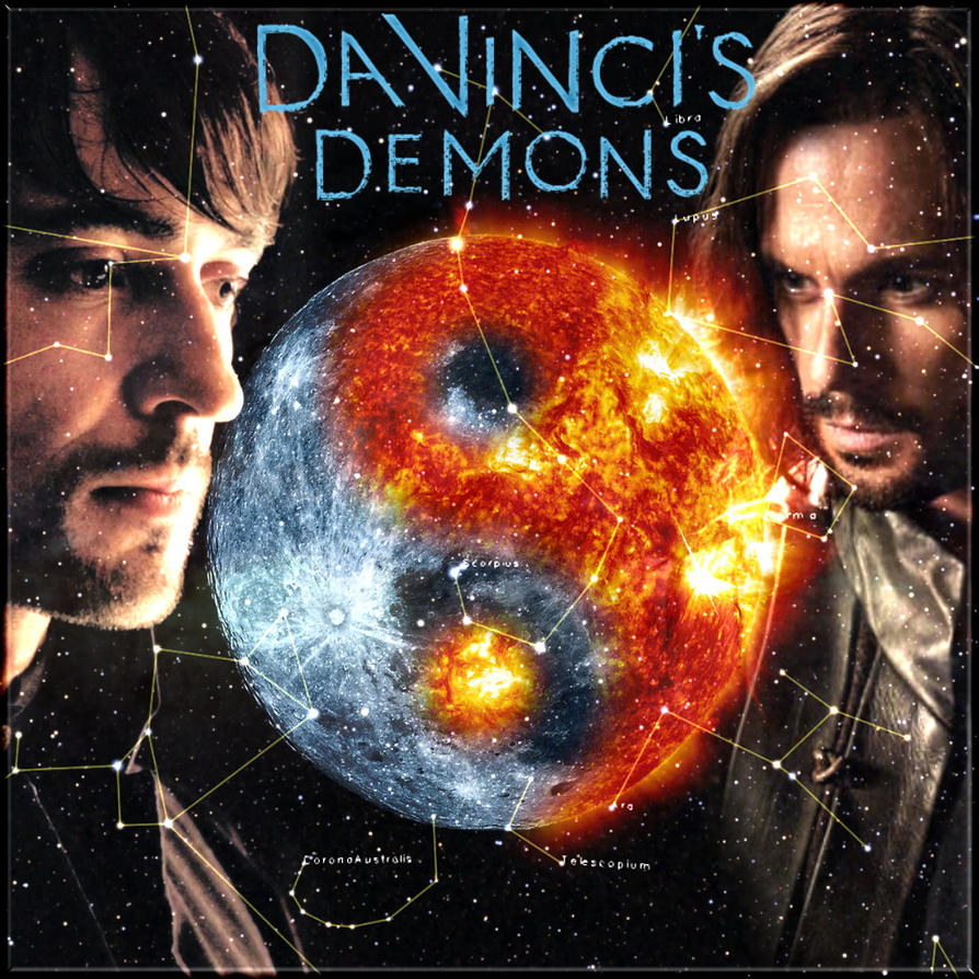 Da Vinci's Demons -  The Sun and the Moon by Into-Dark