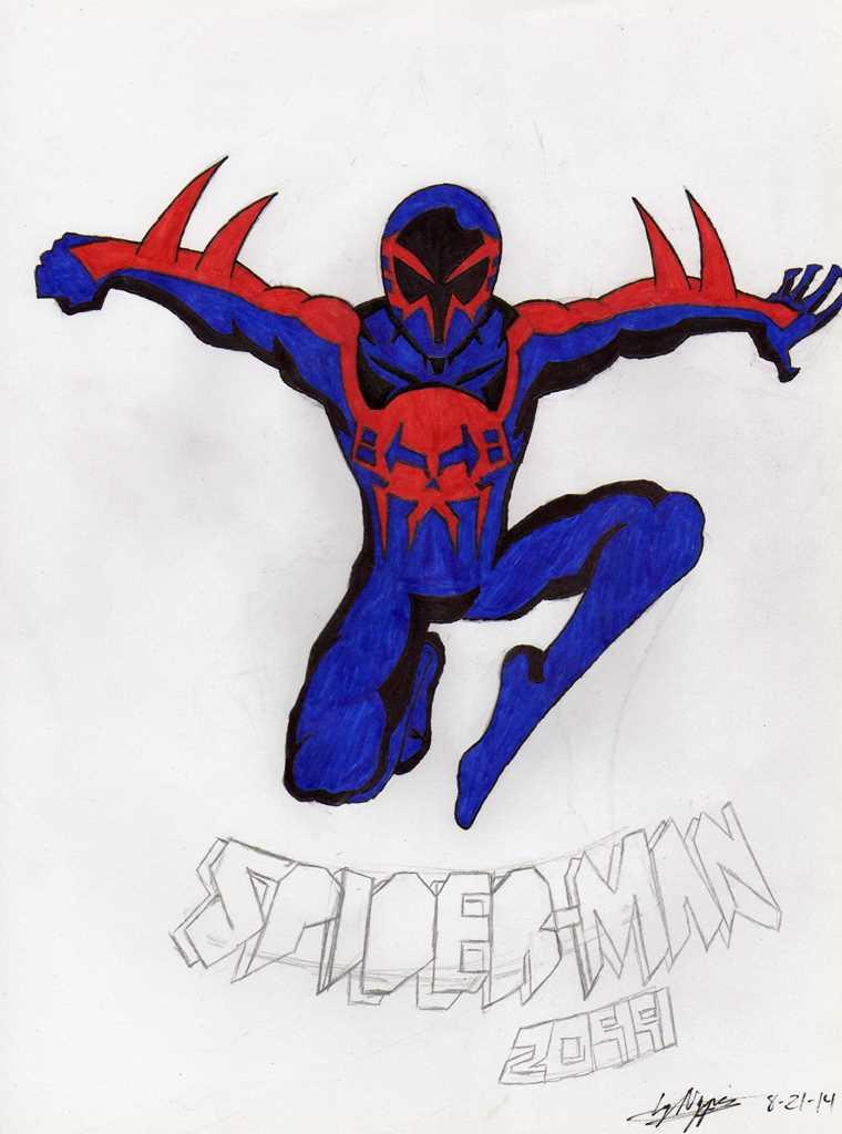 Spider-Man 2099 by blackspades10