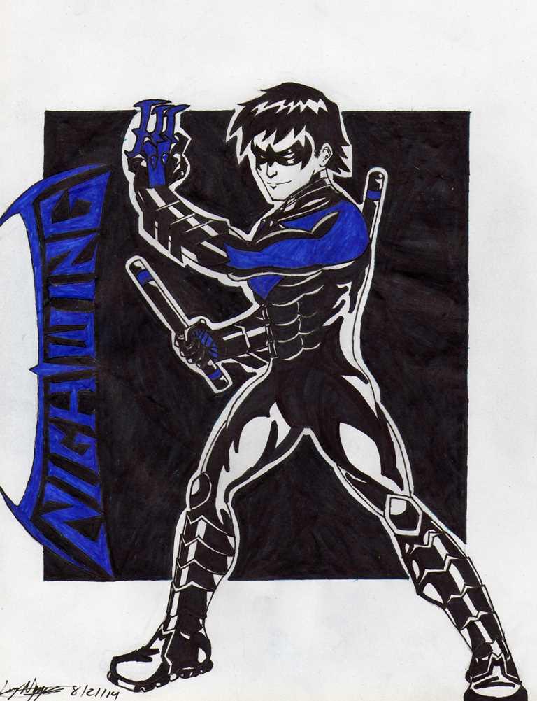 Nightwing by blackspades10