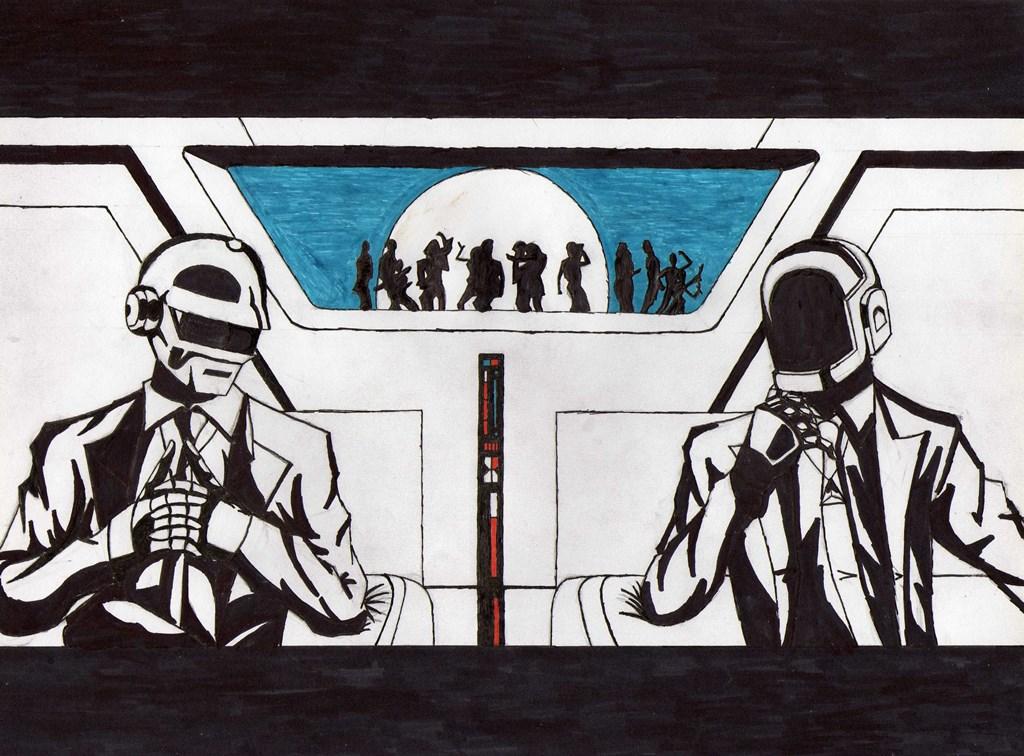 Daft Punk by blackspades10