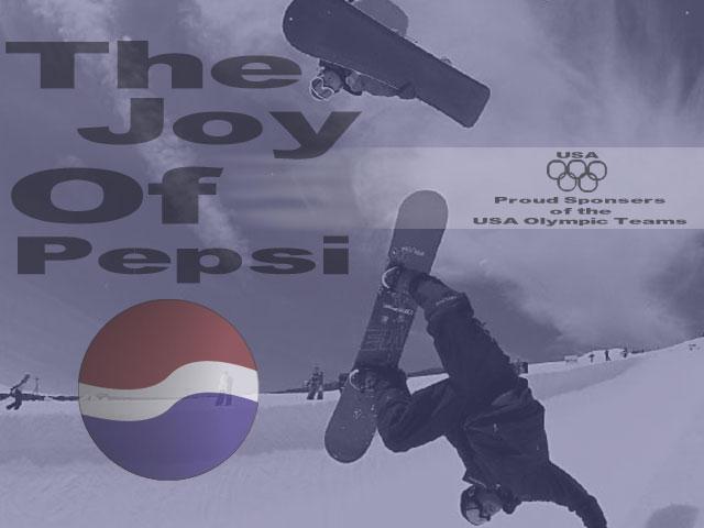 Joy of pepsi by bowl