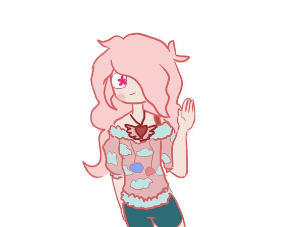 Cartoon Girl Oc by Gogonogo1