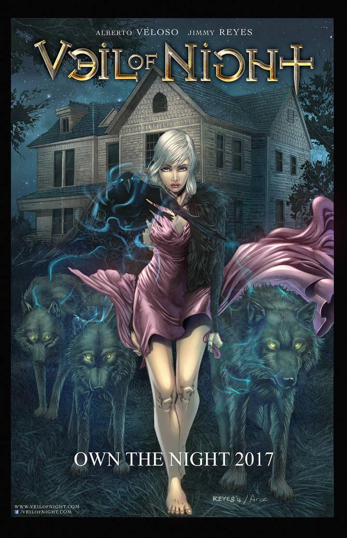 Veil Of Night Promo11x17