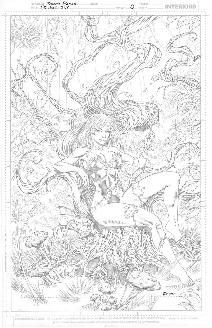Poison Ivy by JimmyReyes